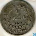 Frankrijk 1 franc 1834 (A)