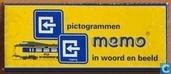 Pictogrammen memo in woord en beeld