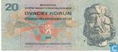 Czechoslovakia 20 Korun