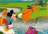 Mickey en Pluto