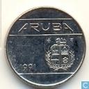 Aruba 10 Cent 1991