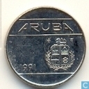 Aruba 10 cents 1991