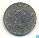 Malte 2 cents 1976