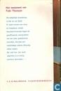 Bucher - Arendsoog - Het testament van Tobi Thomson