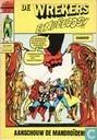 Bandes dessinées - Puissants vengeurs, Les - Aanschouw de Mandroïden!