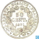 France 50 centimes 1871 (A)