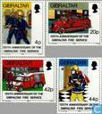 1990 sapeurs-pompiers de 1865 à 1990 (GIB 148)