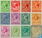 George V - watermark block letters