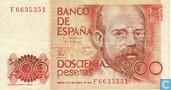 Spanje 200 Pesetas