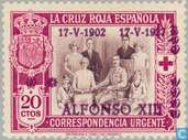 Couronnement Alfonso XIII