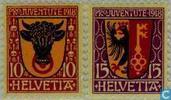 1918 Heraldische wapens (ZWI 36)