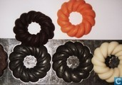 Templates and molds - Chocolate moulds - Kerstkransen
