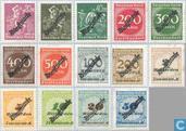 Imprint number stamps