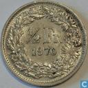 Coins - Switzerland - Switzerland ½ franc 1970