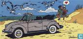 Ansichtkaart Volkswagen Kever cabriolet