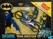 Batman Team Batcycle & Jetwing & Nightwing figures