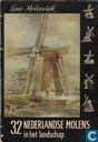 32 Nederlandse molens in het landschap