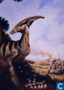 Parasaurolphus with Babies