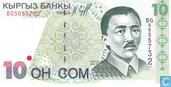 10 somme Kirghizistan