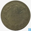 België 5 frank 1833