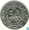 Tokens / Medals - Commercial tokens with no payment value - Nutella 50 Nutella cents 2001 Walhalla