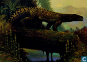 Large Thecodont and Austrobrachyops