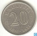 Malaysia 20 Sen 1977