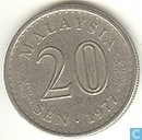 Malaisie 20 sen 1977