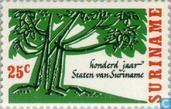 États de 1866-1966 Suriname