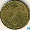 Coins - Germany - German Empire 5 reichspfennig 1938 (E)