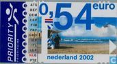Postage Stamps - Netherlands [NLD] - Introducing Euro