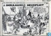 Bandes dessinées - Neron et Cie - De Indiaanse neusfluit