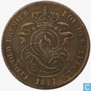 Belgium 2 centimes 1841