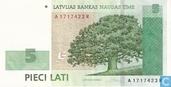 Lettonie 5 Lati
