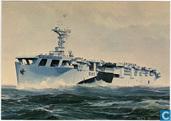 Hr.Ms. Karel Doorman (1946-1948) Schilderij van Joh. t. Bendervoet
