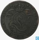 Belgium 5 centimes 1850