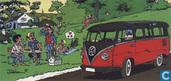 Ansichtkaart Volkswagen Kombi minibus