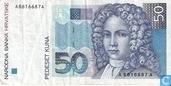 Kuna Croatie 50