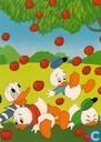 Donald Duck en kwik, kwek en kwak