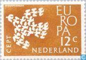 Timbres-poste - Pays-Bas [NLD] - Europe – Pigeons en vol