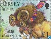 An chinois Nouvel An de la Ram