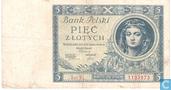 Pologne 5 Zlotych 1930
