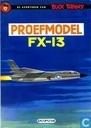 Bandes dessinées - Buck Danny - Proefmodel FX-13