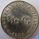 Netherlands Antilles 1/10 gulden 1956