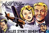 Comic Books - Piloot Storm - Alles strikt geheim