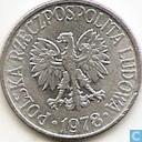 Polen 50 groszy 1978 (zonder muntteken)