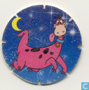 Caps and pogs - 1) The Flintstones - Dino