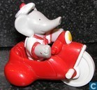 Babar - Arthur on bicycle