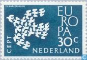 Postage Stamps - Netherlands [NLD] - Europe – Flying Pigeons