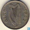 Irlande 6 pence 1952